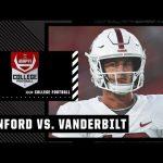Stanford Cardinal at Vanderbilt Commodores   Full Game Highlights