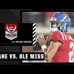 Tulane Green Wave at Ole Miss Rebels   Full Game Highlights
