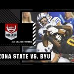 Arizona State Sun Devils at BYU Cougars   Full Game Highlights